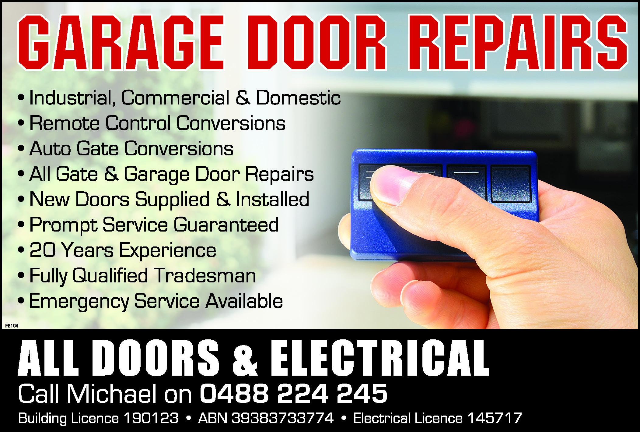 remote garage door opener Home & Garden ** Garage Door Gate Remote ...